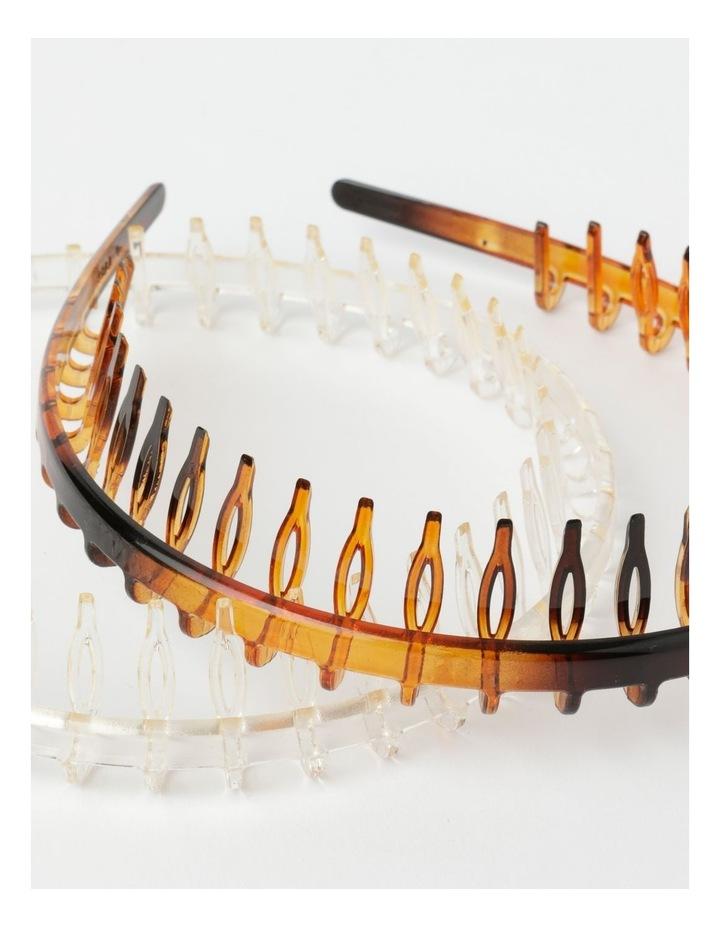 Tooth Headband 2Pk Hair Accessory image 3