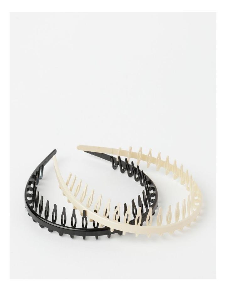 FBHB20686-031 Tooth Headband 2Pk Hair Accessory image 1