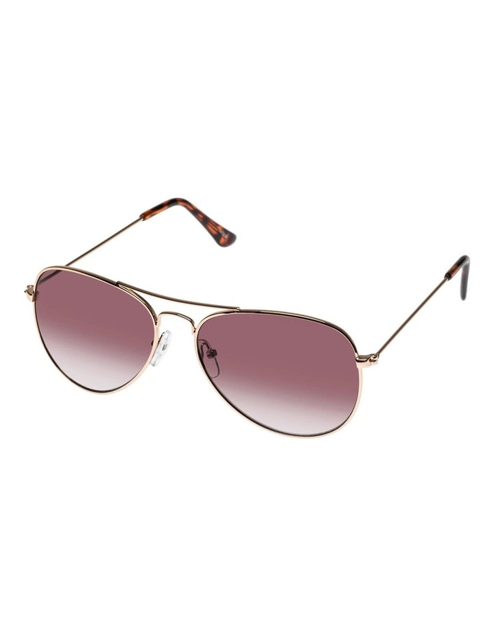Eye Candy Gold Aviator Sunglasses image 1