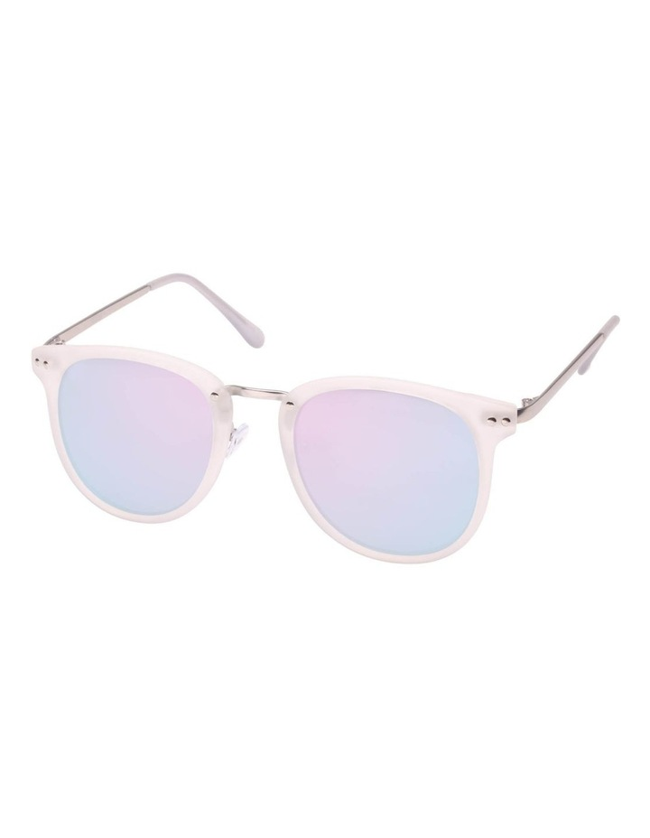 Busted White Sunglasses image 1