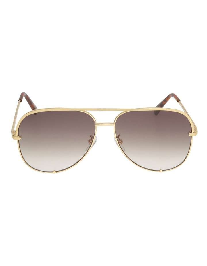 FLAWLESS 187149 GOLD SUNGLASSES image 1