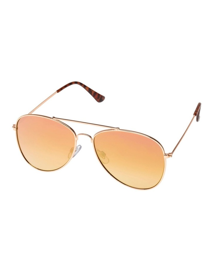 Electric Feel Rose Aviator Sunglasses image 1