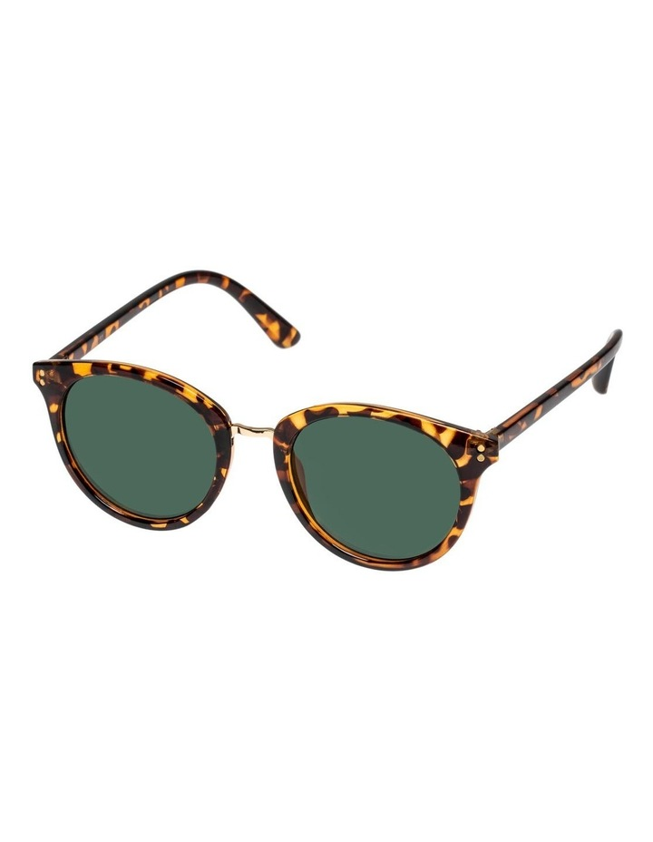 Phoenix Brown Round Sunglasses 302207181 image 1