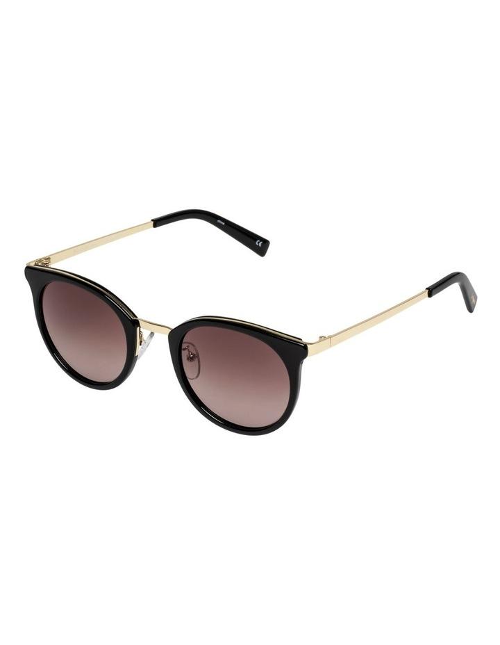No Lurking Black Round Sunglasses LSP2002206 image 2