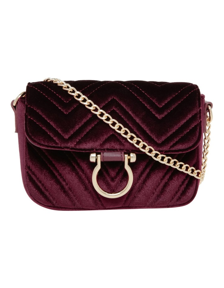 Velvet Quilted Bag image 1