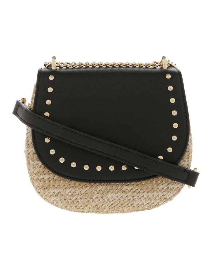 Flap Over Straw Bag image 1