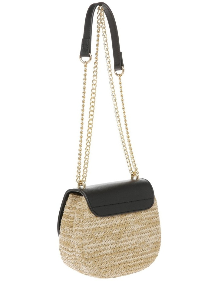 Flap Over Straw Bag image 3