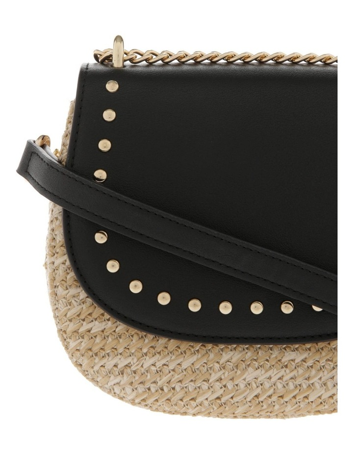 Flap Over Straw Bag image 4