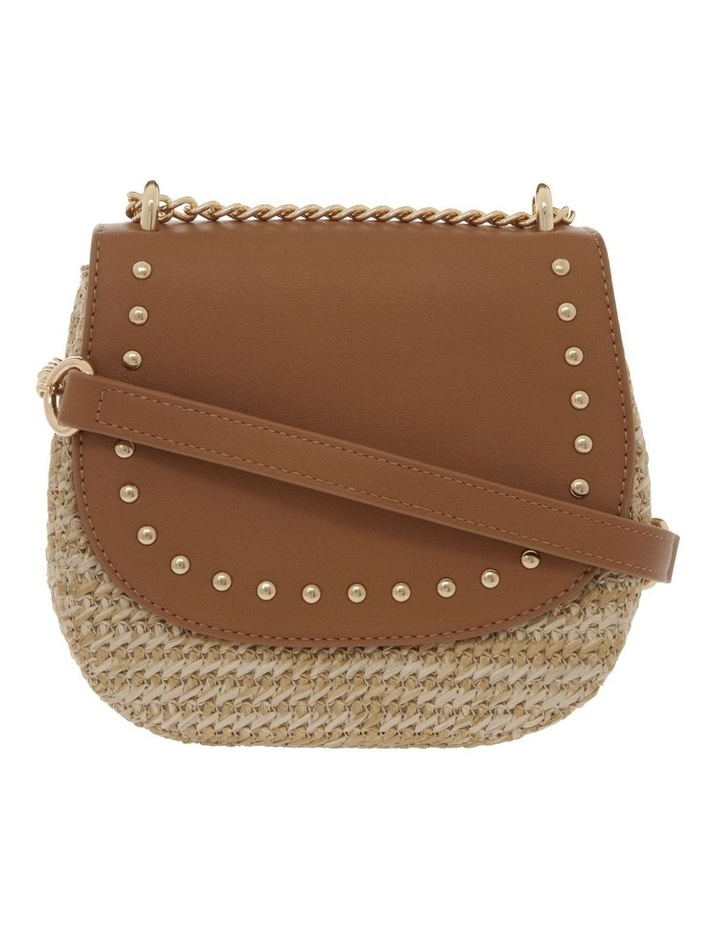 Straw Bag With PU Flap Over Bag image 1
