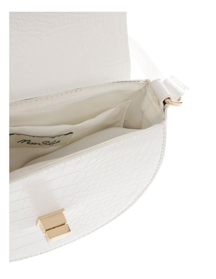 Cross Over Body Bag - White image 4