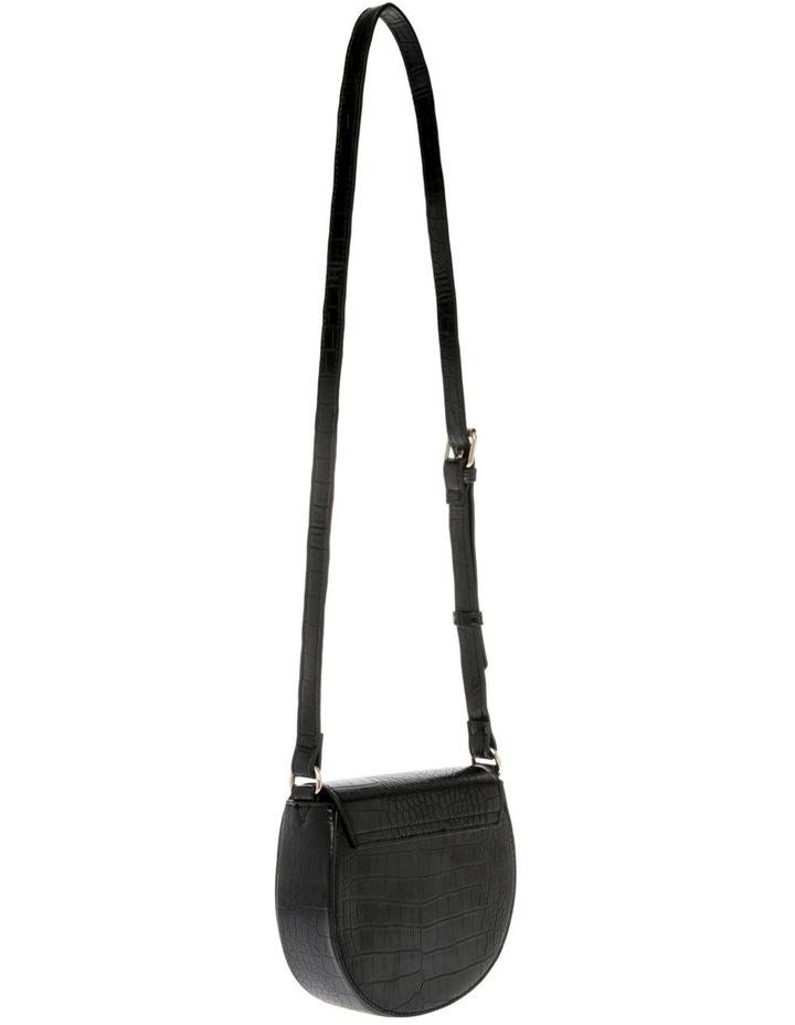 Cross Over Body Bag - Black image 2