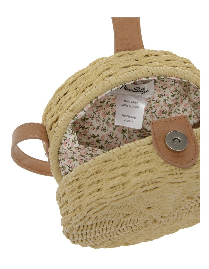 Round Straw Bag image 4