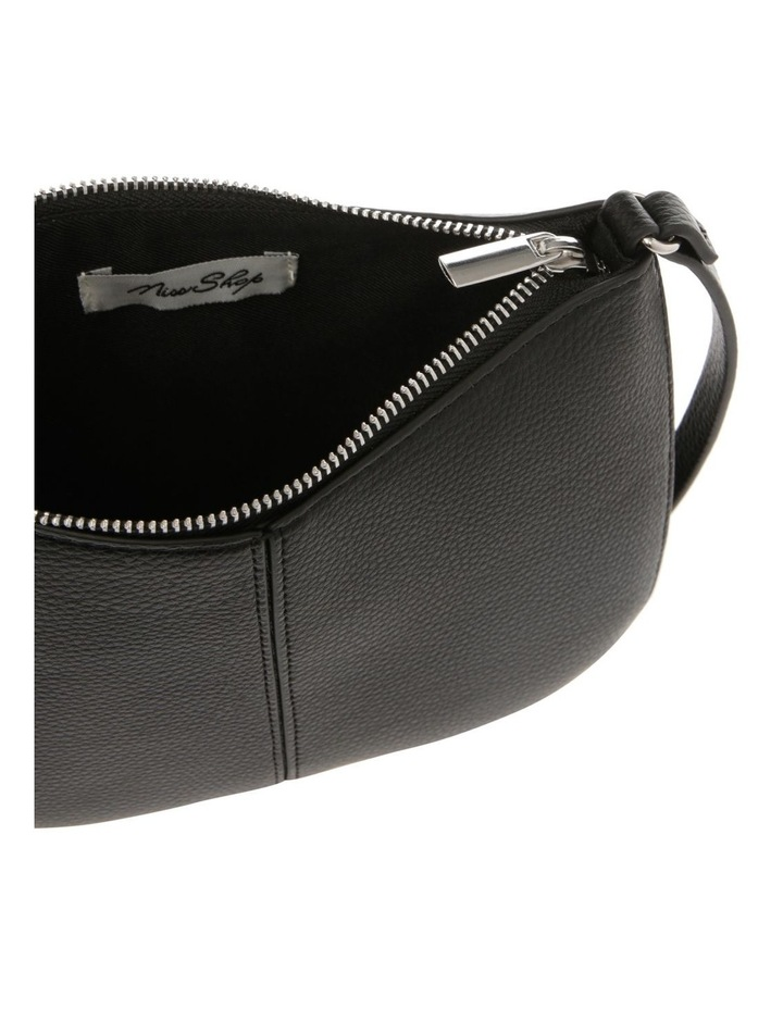 Basic Cross Body Bag with Stitching Detail image 4