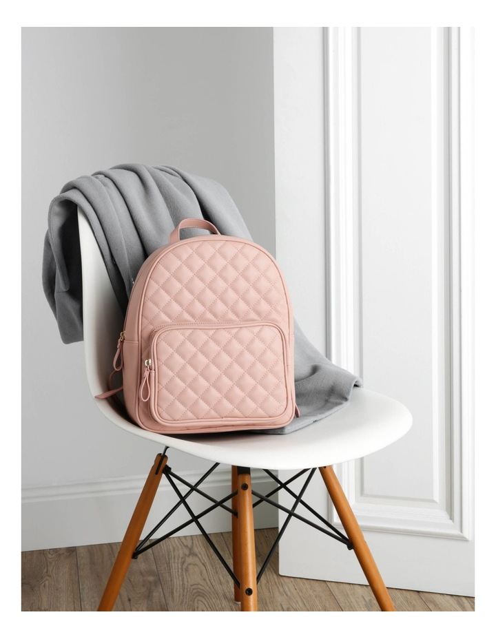 Quilted Backpack image 5