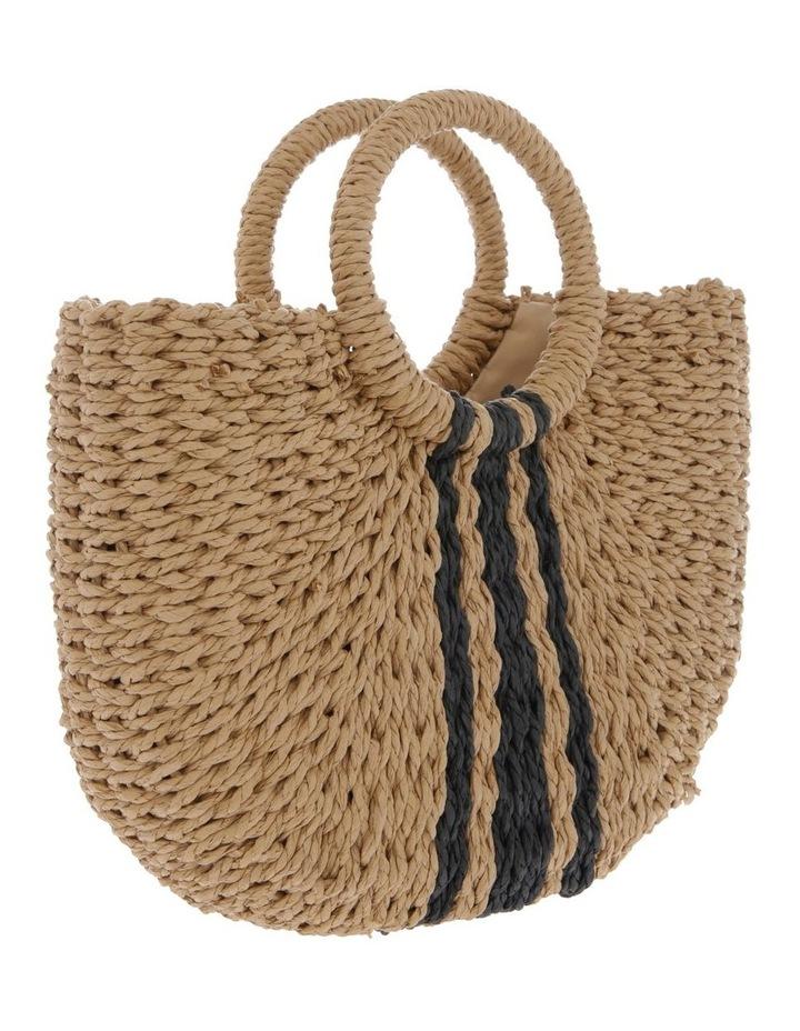 Straw Basket Stripe Bag image 2