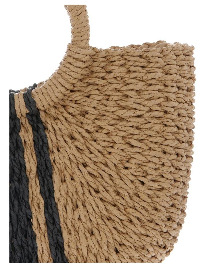 Straw Basket Stripe Bag image 3