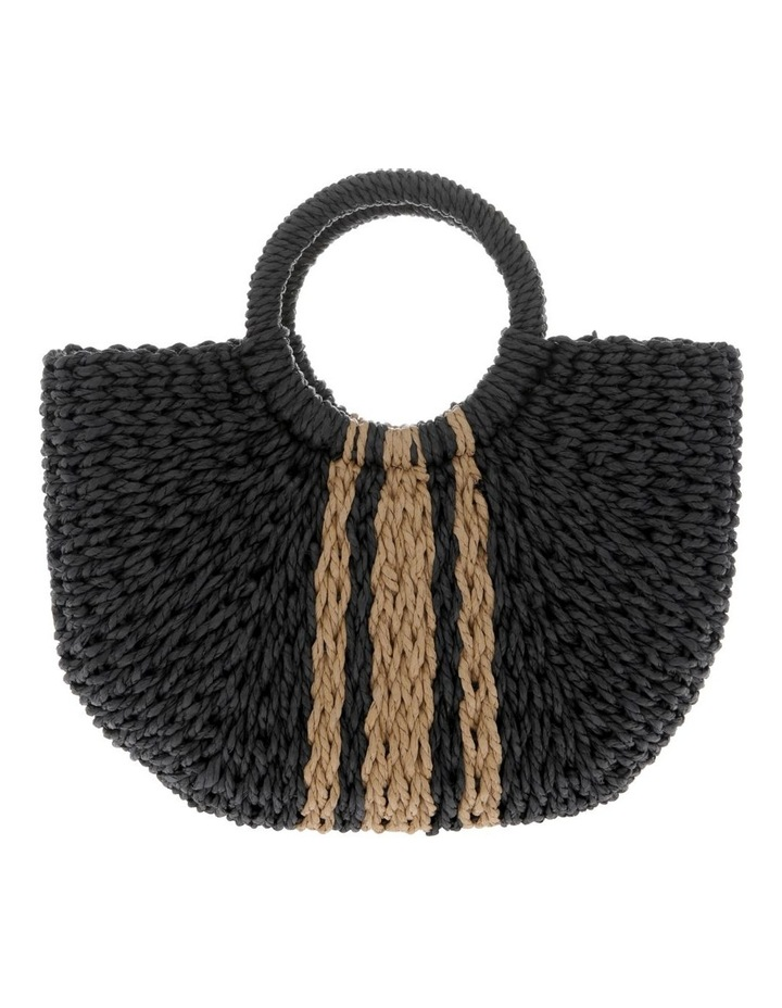 Straw Basket Stripe Bag image 1