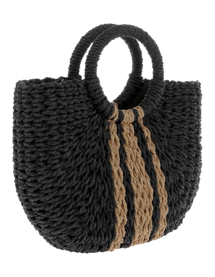 Straw Basket Stripe Bag image 2