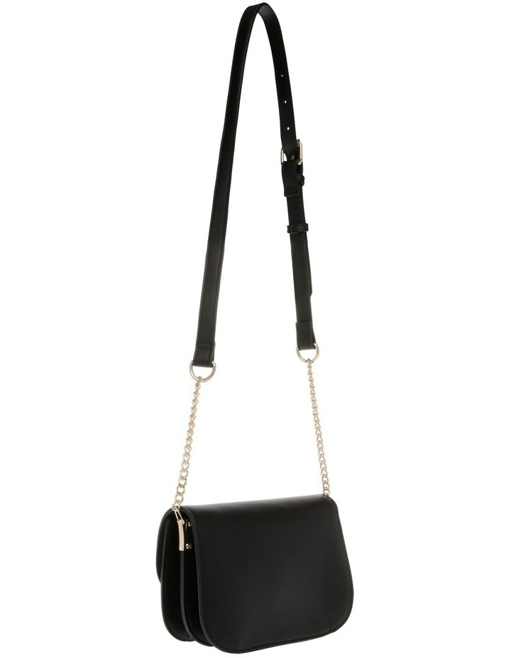 Print Suede Flap Over Bag image 2