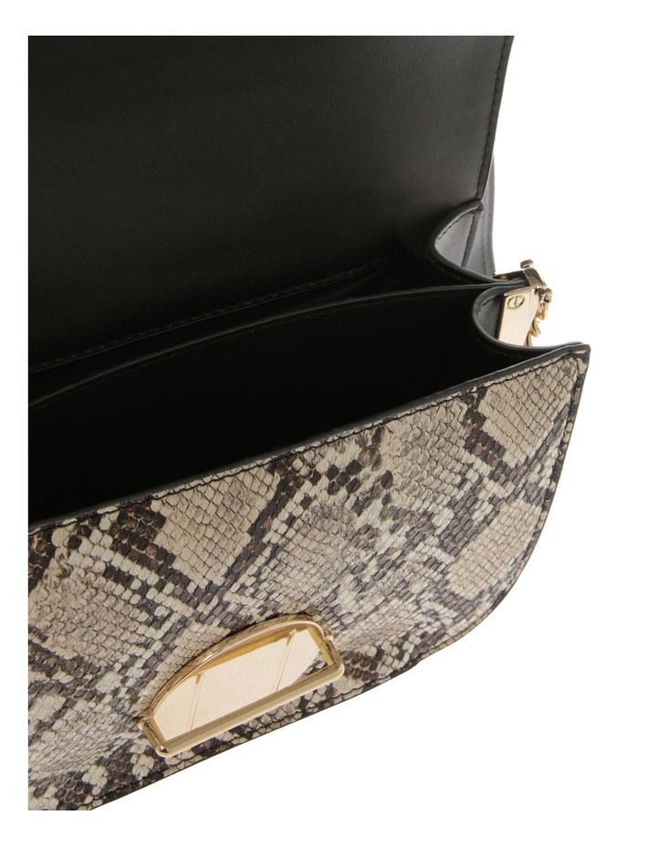 Print Suede Flap Over Bag image 4