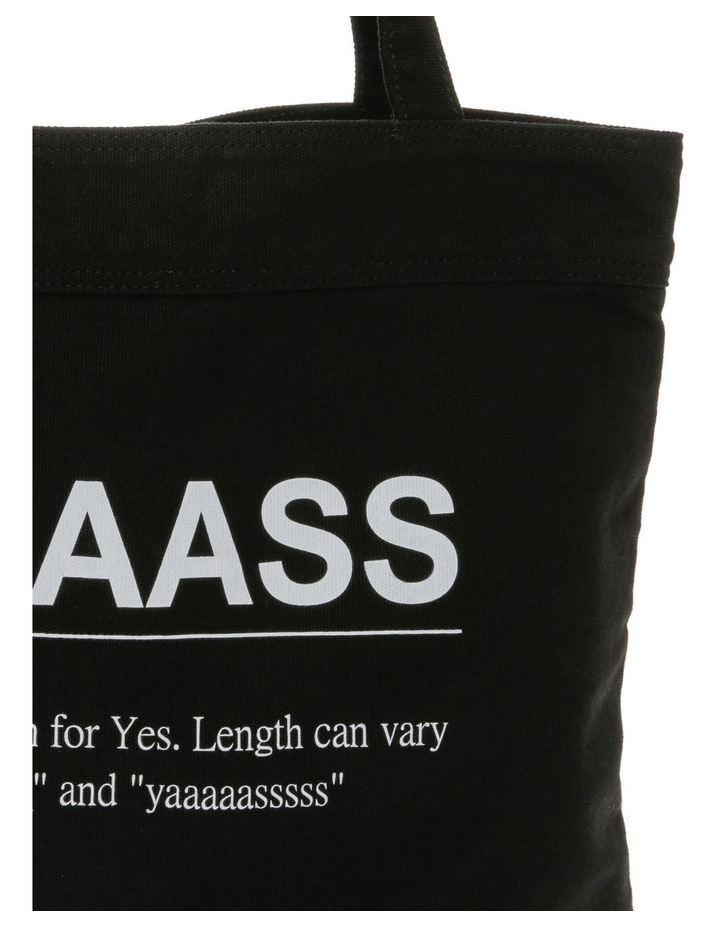 Yaaass Canvas Tote Bag image 3
