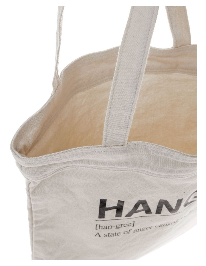 Hangry Canvas Tote Bag image 4