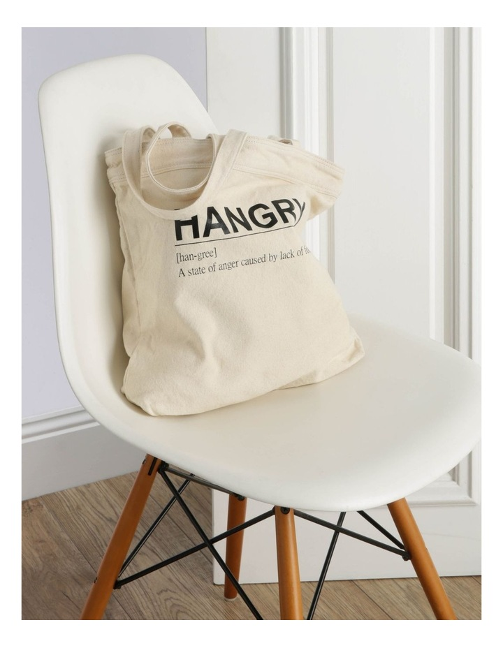 Hangry Canvas Tote Bag image 5