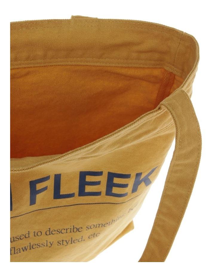 On Fleek Canvas Tote Bag image 4