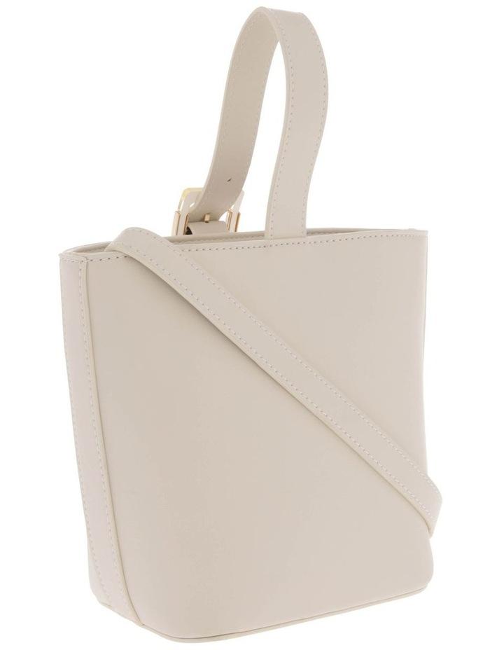 Marble Buckle Top Handle Bucket Bag image 2