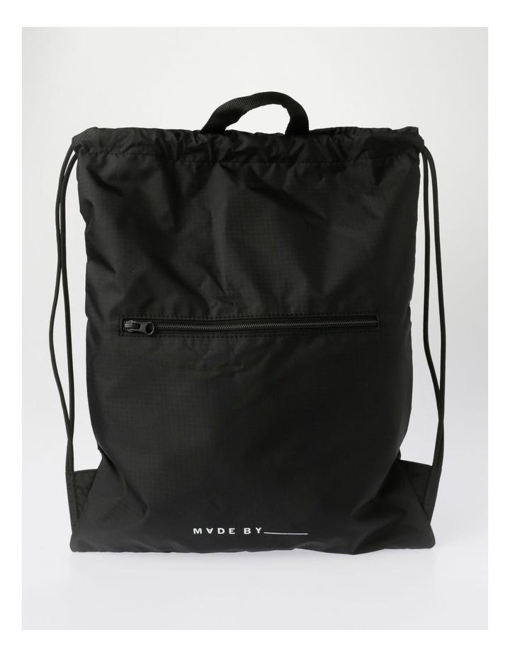 Made By Drawstring Backpack Bag image 1