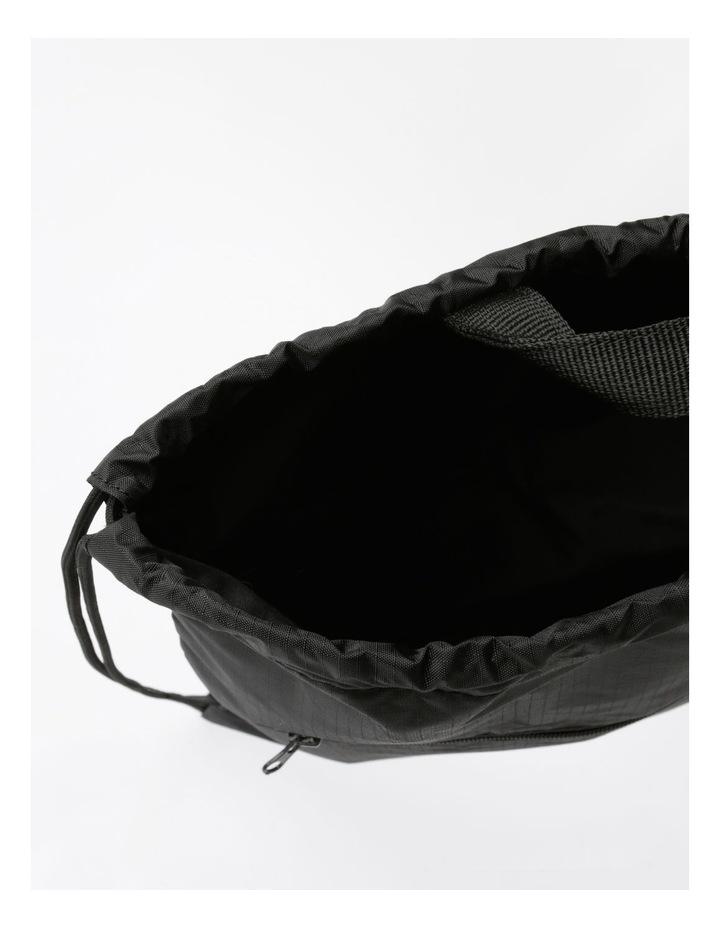 Made By Drawstring Backpack Bag image 4