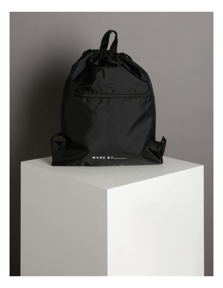 Made By Drawstring Backpack Bag image 5