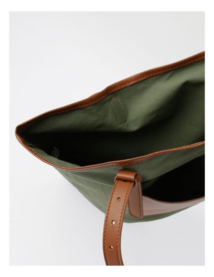 Contrast Pocket Tote Bag image 4