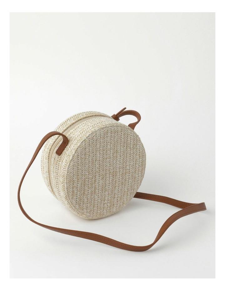 Round Straw Crossbody Bag image 2