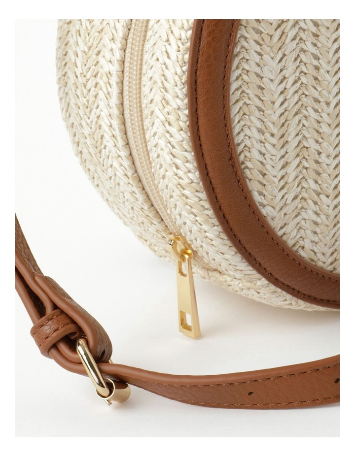Round Straw Crossbody Bag image 3