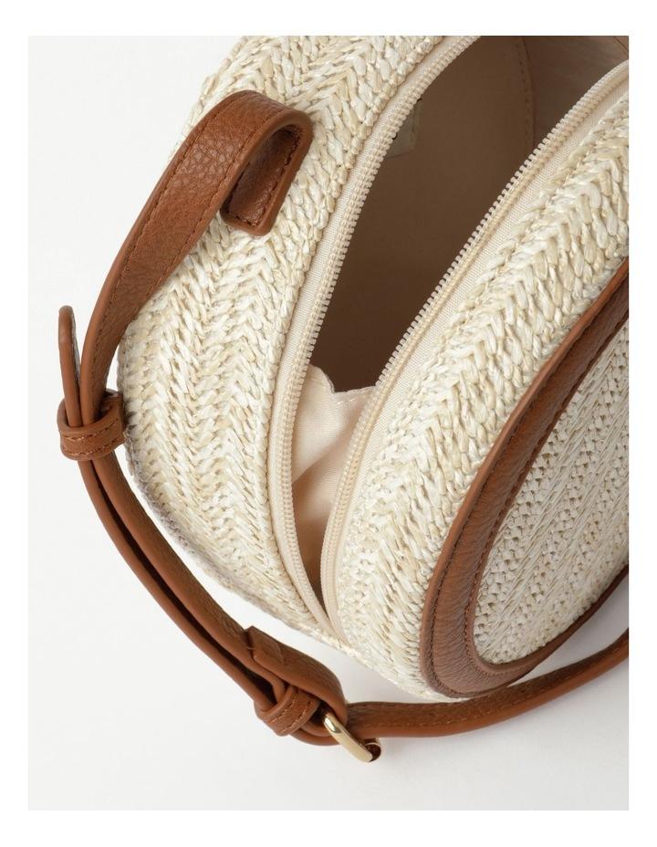 Round Straw Crossbody Bag image 4