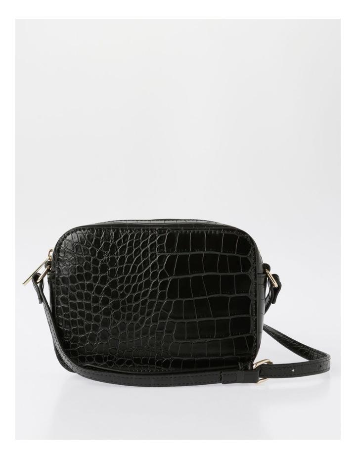 Zip Around Croc Crossbody Bag image 1