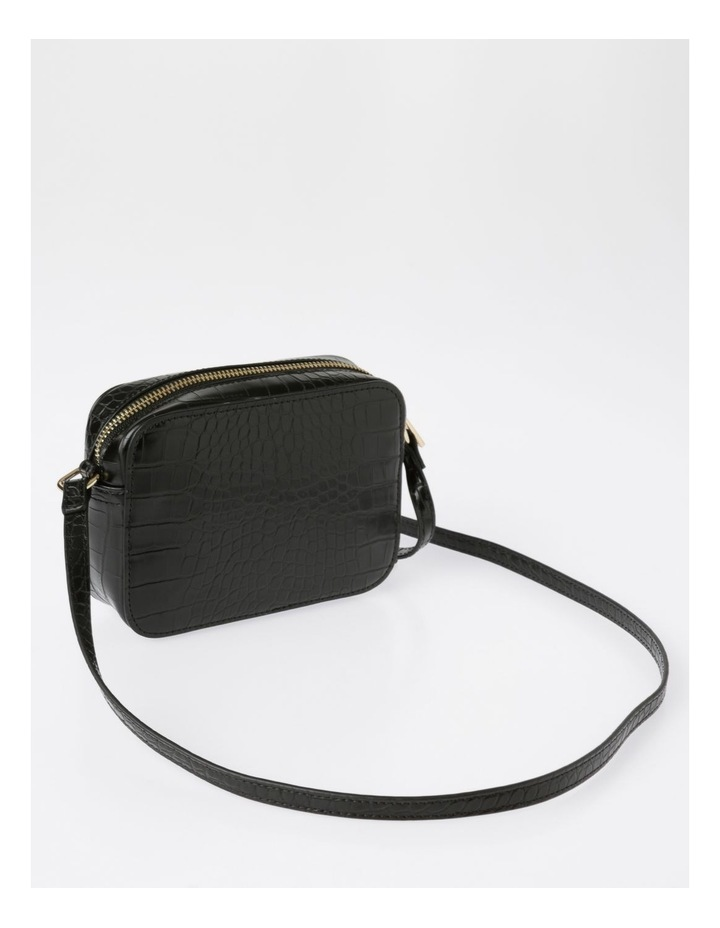 Zip Around Croc Crossbody Bag image 2