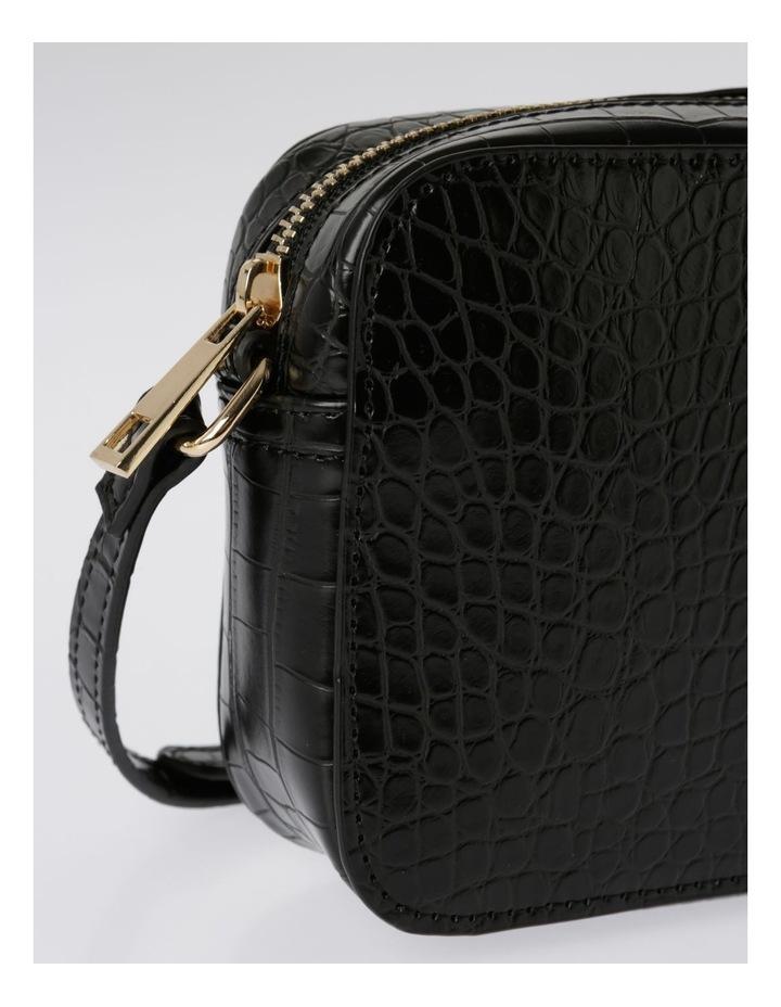 Zip Around Croc Crossbody Bag image 3