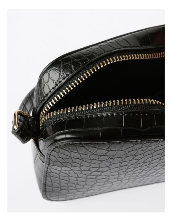 Zip Around Croc Crossbody Bag image 4