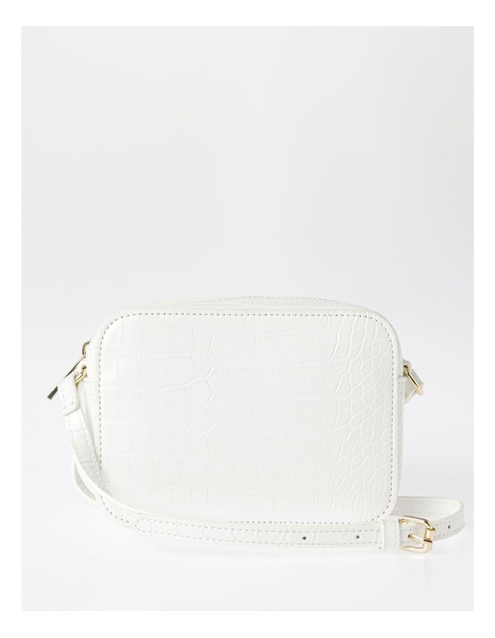 Zip Around Croc Crossbody Bag image 1