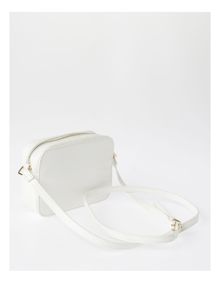 Zip Around Croc Crossbody Bag image 2