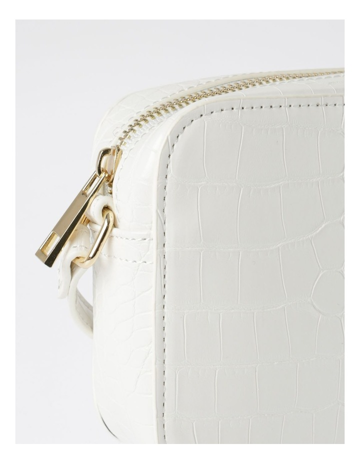 Zip Around Croc Crossbody Bag image 3