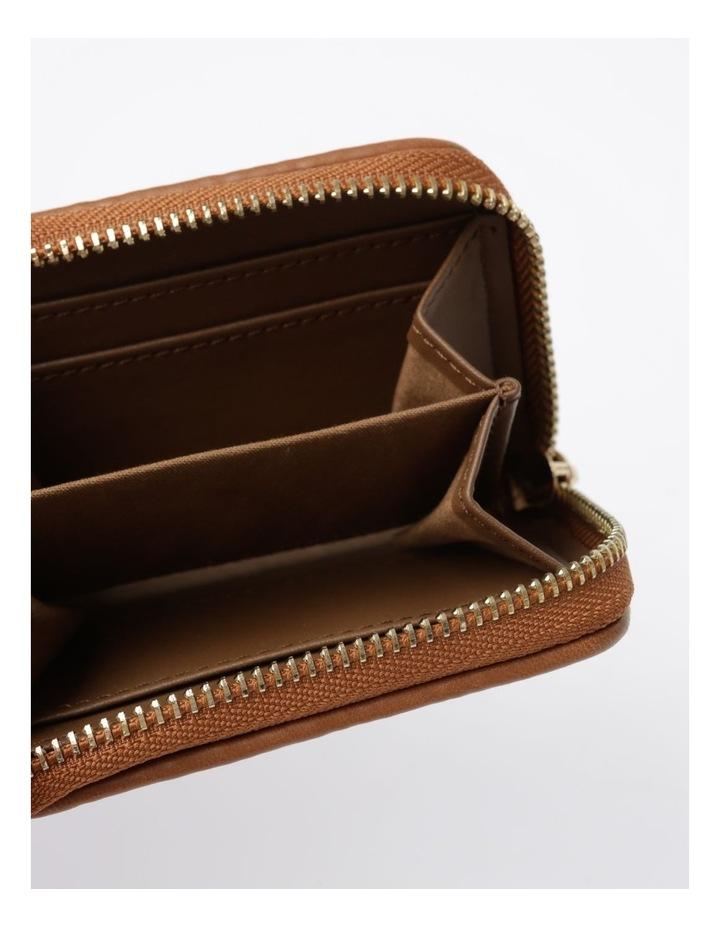 EBG7064 Zip Around Straw Wallet image 4