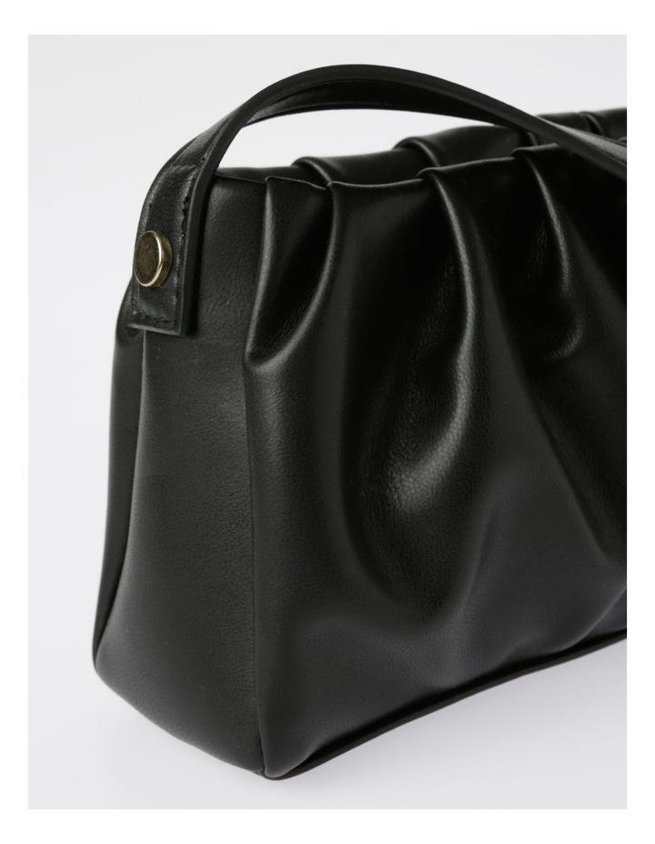 Ruched Baguette Bag image 3