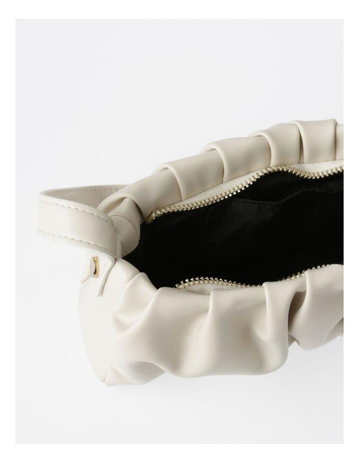 Ruched Baguette Bag image 4