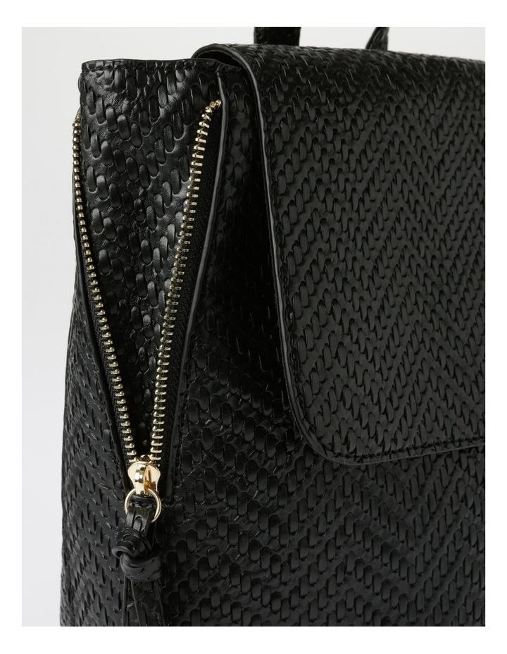 EBG11295 Flap Over Straw Backpack Bag image 3