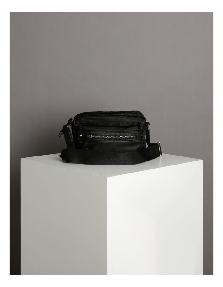 Zip Around Nylon Crossbody Bag image 5