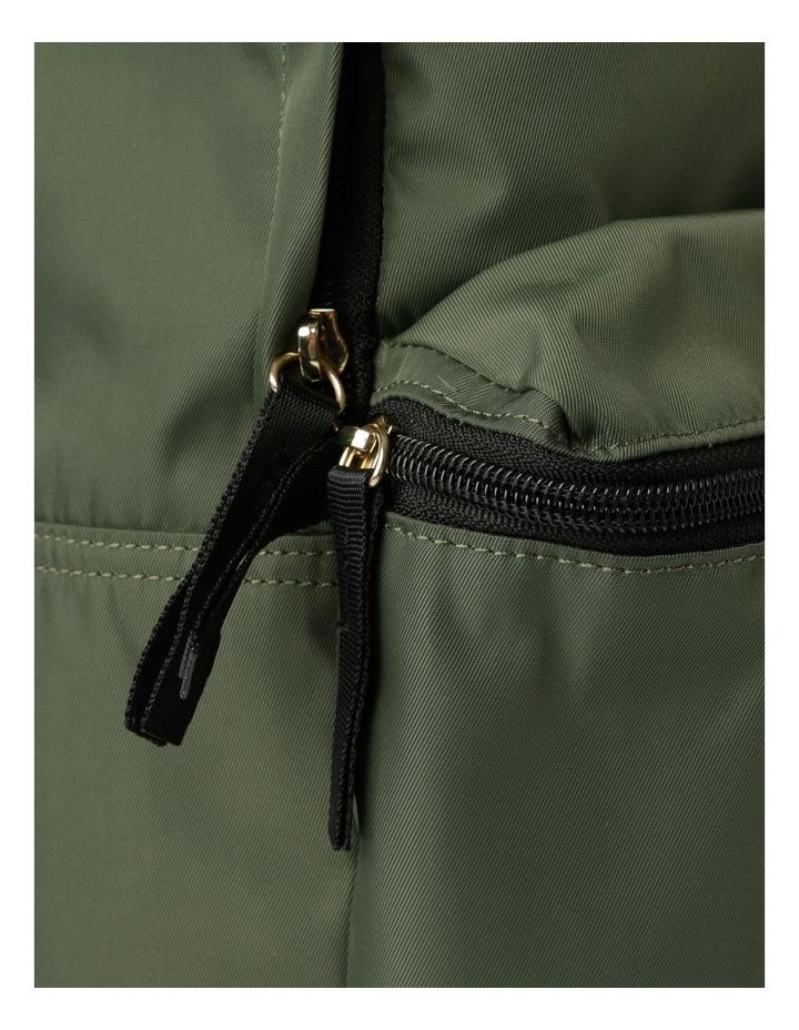 Zip Around Nylon Backpack Bag image 3