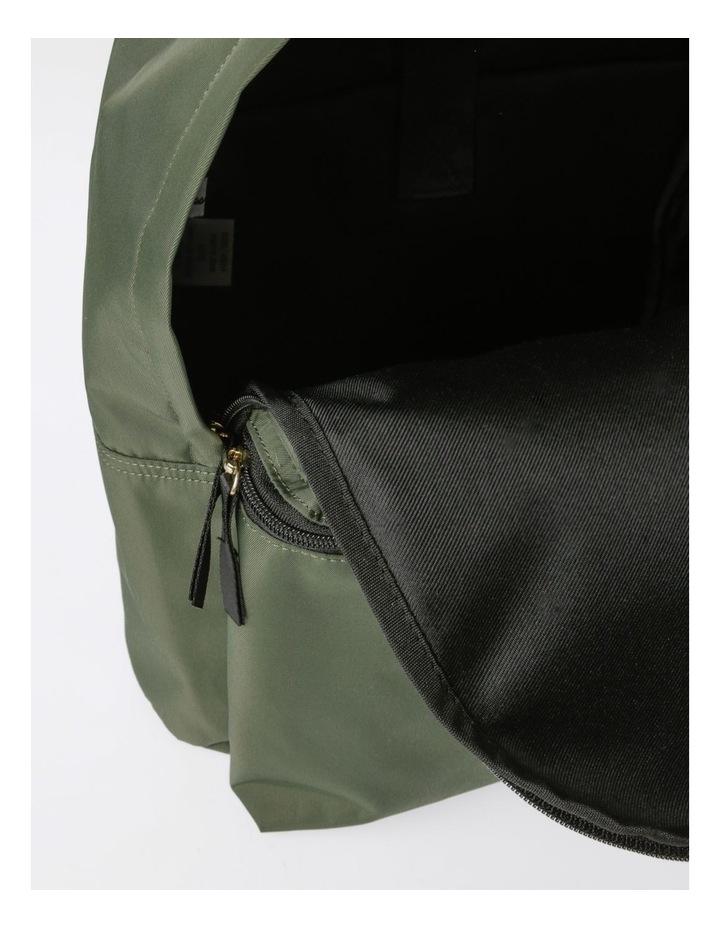 Zip Around Nylon Backpack Bag image 5